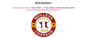 élu meilleur coiffeur 2018