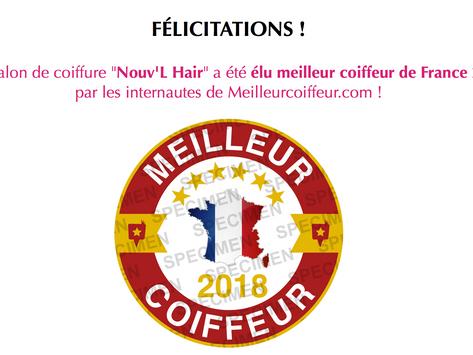 """""""Meilleur coiffeur 2018"""""""