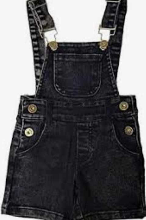 MLW by Design - Black Overalls