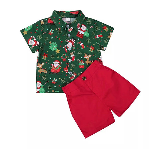 CHRISTMAS Outfit - Boys Set