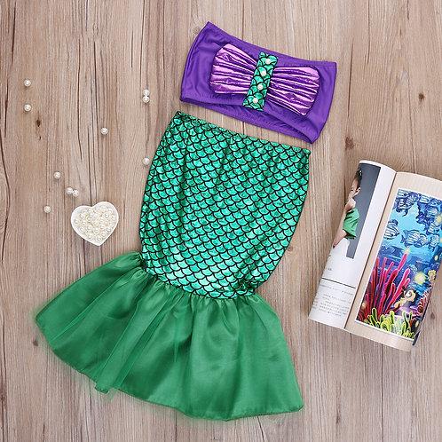 Mermaid Dress Up 2 Piece Set