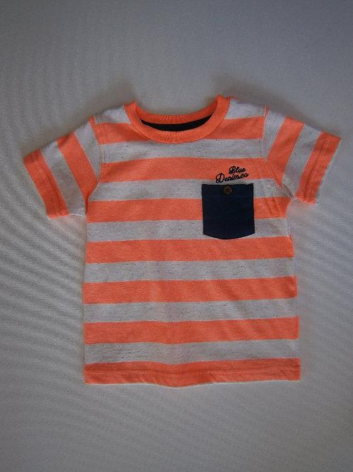 Boys Striped T-shirt – Orange