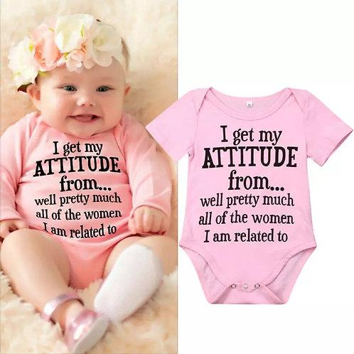 Attitude Onesie
