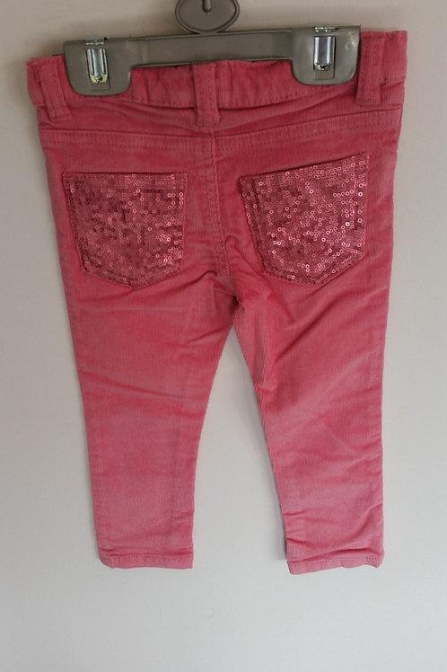 Girl's Cord Pants