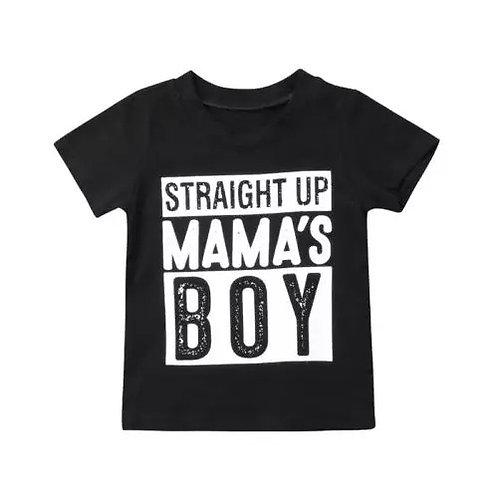 Straight Up Mama's Boy Tee
