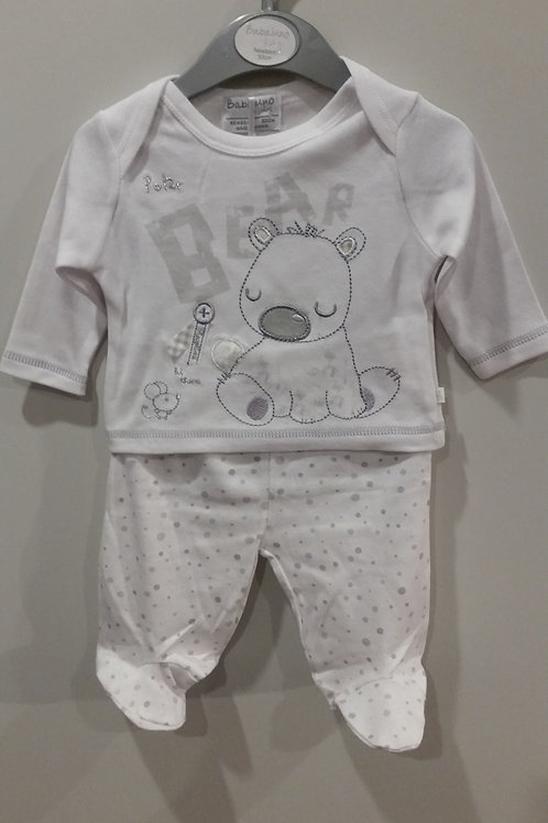 Polar Bear Unisex Two Piece Set