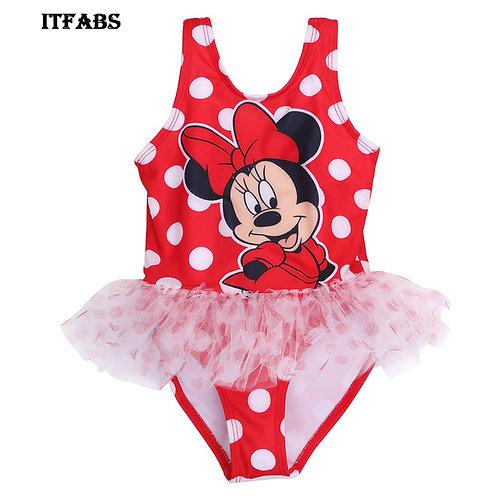 Minnie Mouse Tutu One Piece Swimsuit