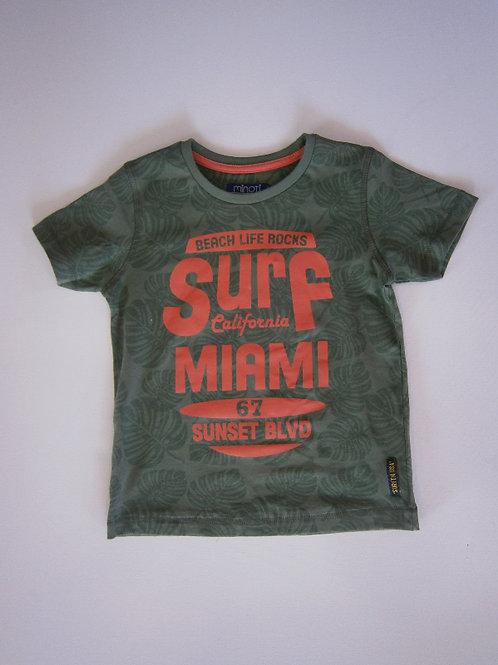 Boy's Miami T-Shirt – Green
