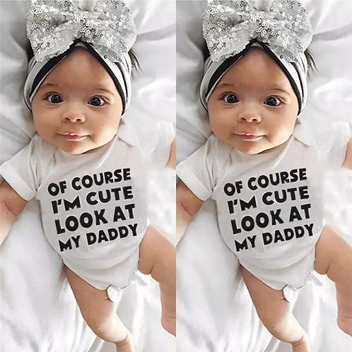 Cute Like Daddy Onesie