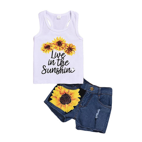 Live in the Sunshine 2 piece set