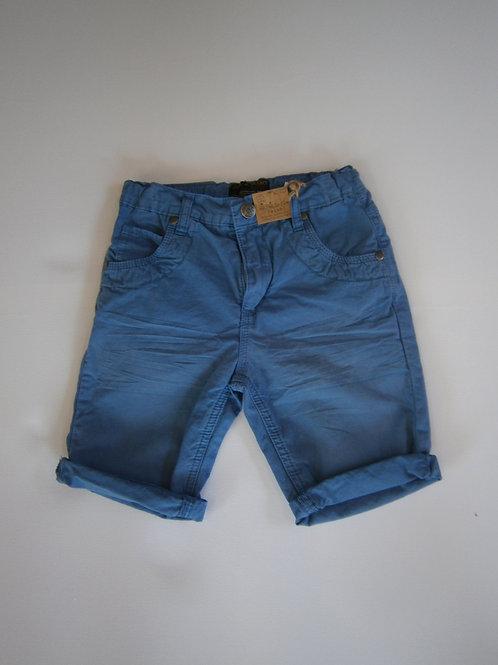 Royal Blue Denim Shorts