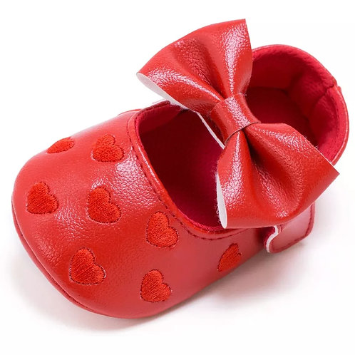 Sweet Heart Shoes - Red