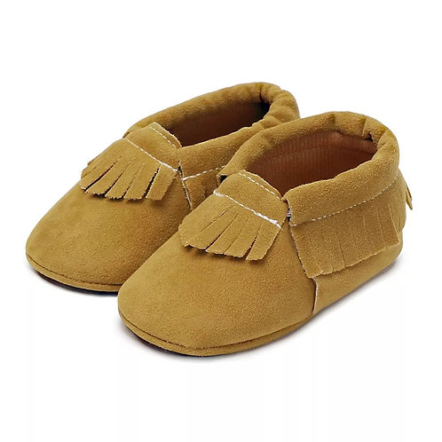 Tan Moccassins