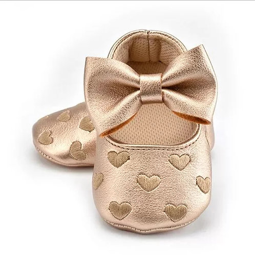 Sweetheart Shoes - Gold