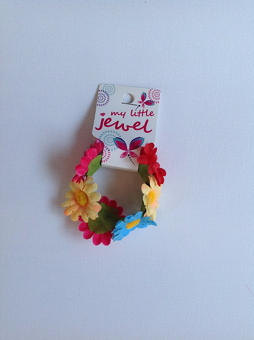 Colourful Flower Elastic