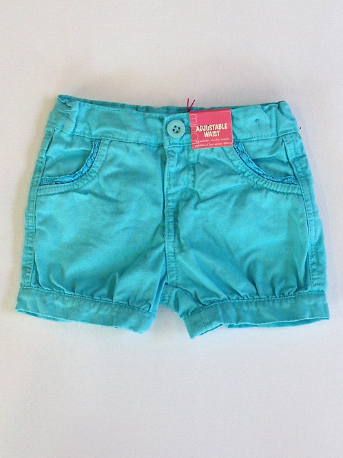 Girl's Cute Short Shorts Aqua