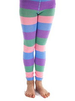 Purple, Green, Pink and Blue Leggings