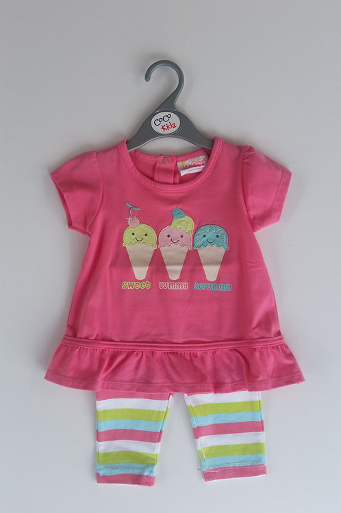 Ice Cream 2 Piece Set