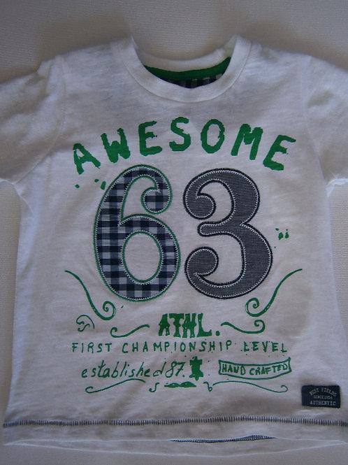 Boy's Awesome T-Shirt - White