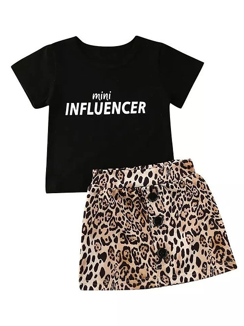 Mini Influencer 2 piece set