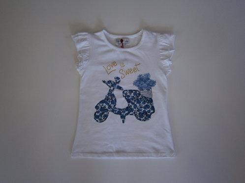 Love is Sweet T-Shirt – White