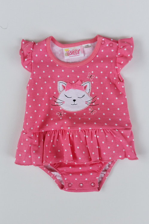 Baby Girl's Cat Bodysuit