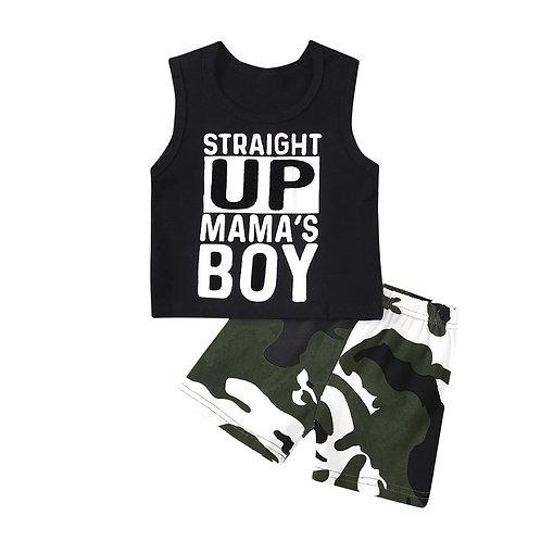 Straight Up Mama's Boy 2 piece set