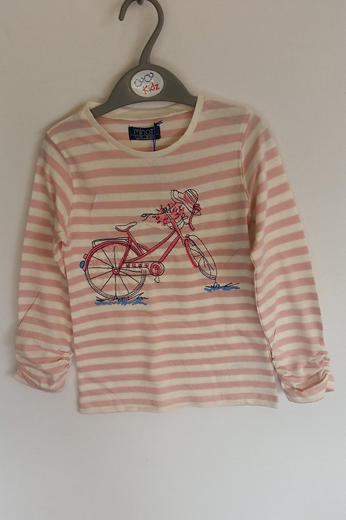 Striped Long Sleeve Shirt - Pink