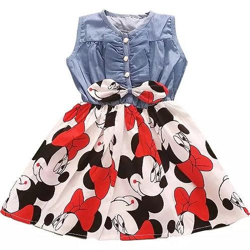 Denim Minnie Mouse Dress