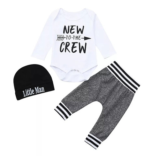 New to the Crew 3 piece set
