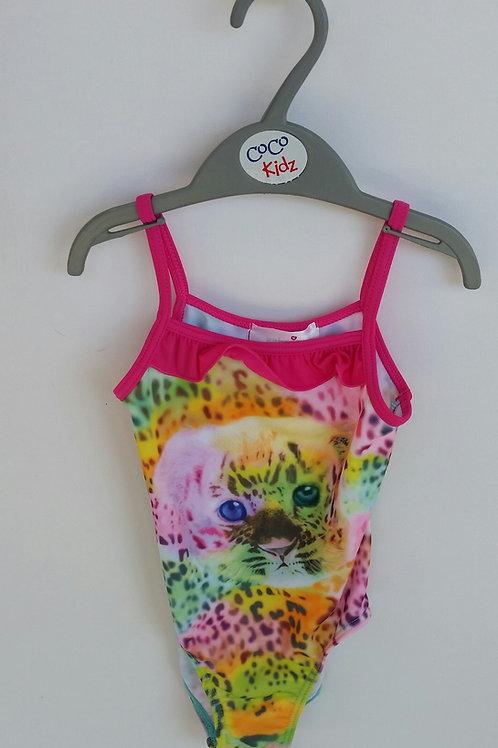 Pink Leopard Swimsuit