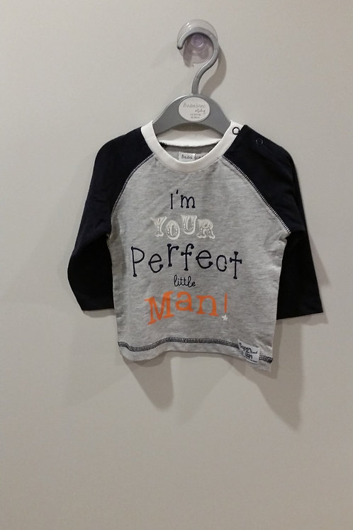 Perfect Little Man Long Sleeve Tee