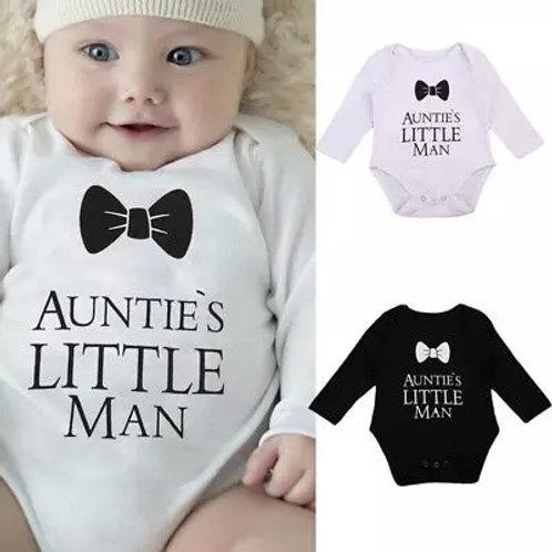Aunties Little Man Onesie