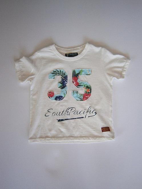 Boy's Tropical T-Shirt – White