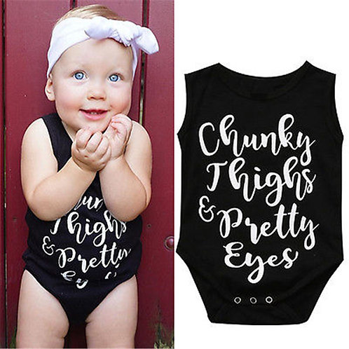 Chunky Thighs and Pretty Eyes