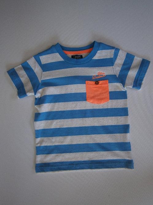 Boys Striped T-shirt – Blue