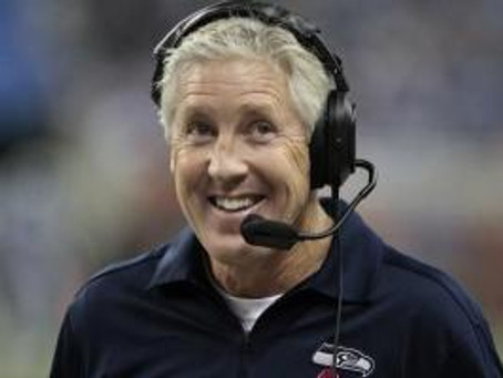 Why I Really Want A Pete Carroll Jersey