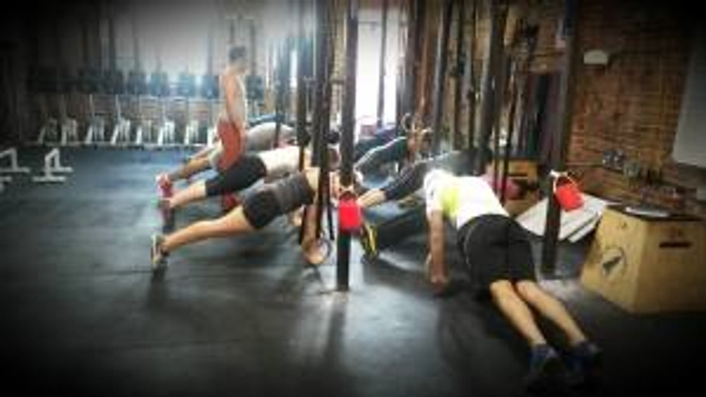Just another morning, hanging around at Rocket CrossFit.