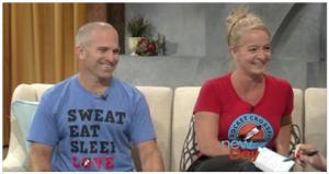 Brady and Alyssa on New Day Northwest. August 7, 2014