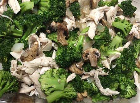 Paleo Chicken & Broccoli Casserole