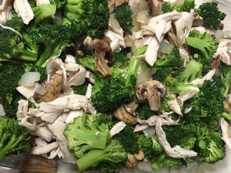 Paleo Chicken & Broccoli Casserole