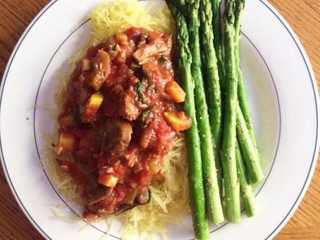 Veggie Marinara & Spaghetti Squash