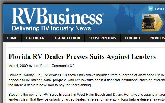 2009-05-04 RV Business