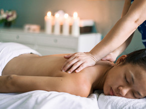 Managing stress and depression through Massages