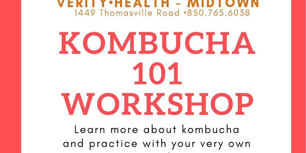 Kombucha 101 Workshop