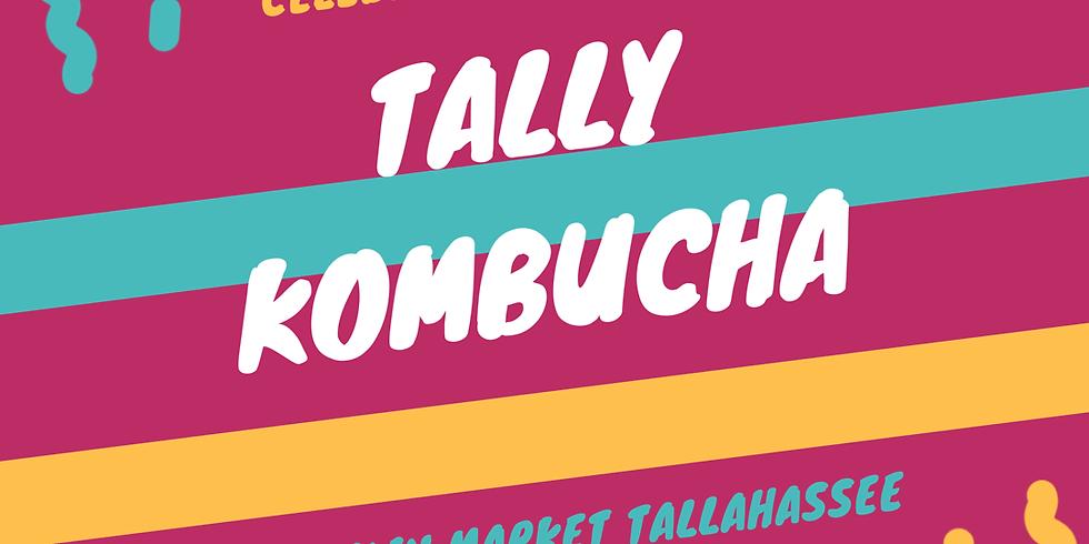Tally Kombucha @ the Market