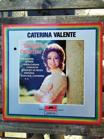 Caterina Valante- Bonjour Catherine- Plak-LP