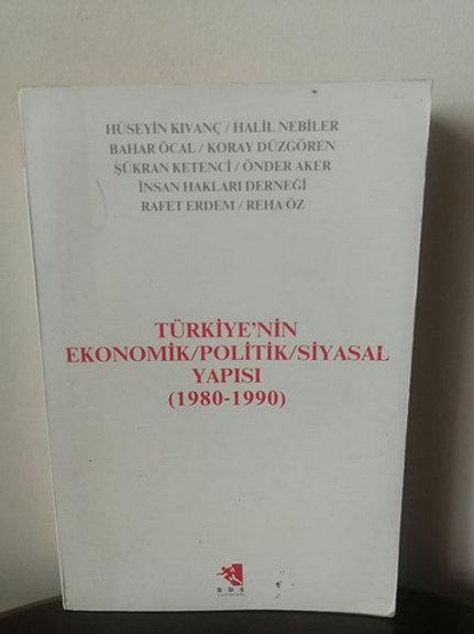 Türkiye'nin Ekonomik                  \Politik\Siyasal Yapısı (1980-1990)