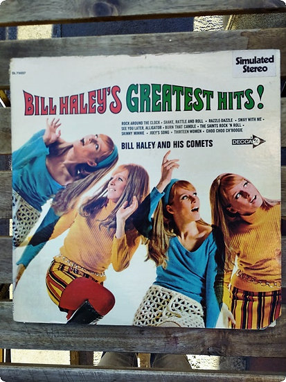 Billy Haley's Greatest hits- Plak -LP