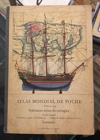 ATLAS MONDIAL DE POCHE 1958 yılı Atlas